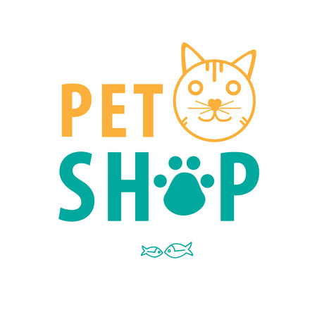 Cat shop background