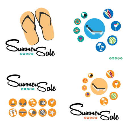gift basket: Summer sale set cover