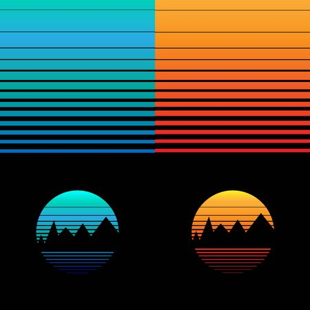 gradient: Gradient background in September Illustration