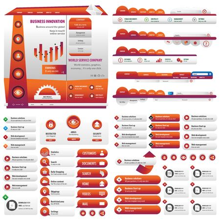 average: Orange button web site