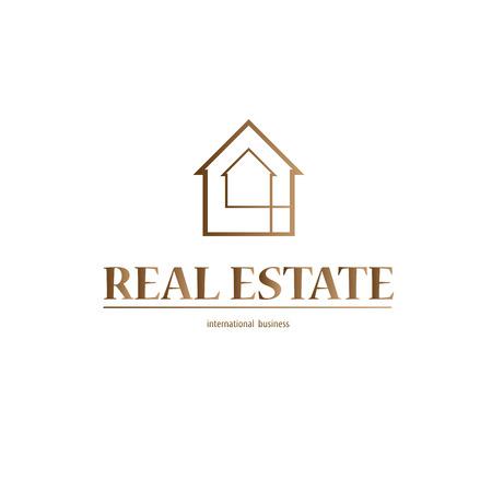 real estate: Real Estate design background