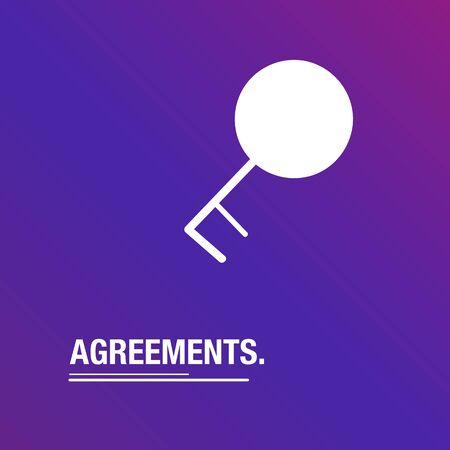 between: Agreements Between people background