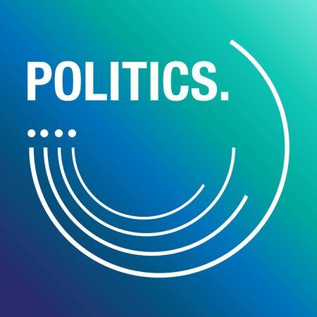 politics: Politics for the election background