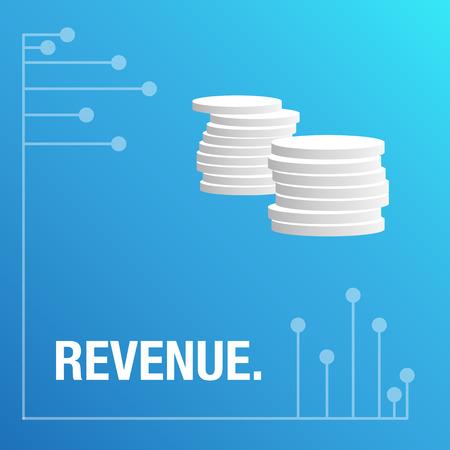 new economy: Revenue for the new economy background