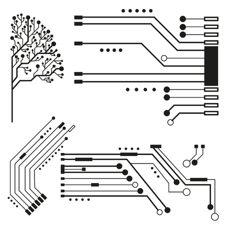 electronic board: Technology circuit for online business