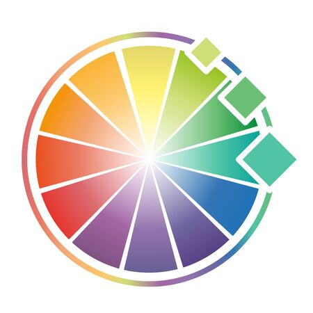 color theory: Color Wheel Worksheet for design elements