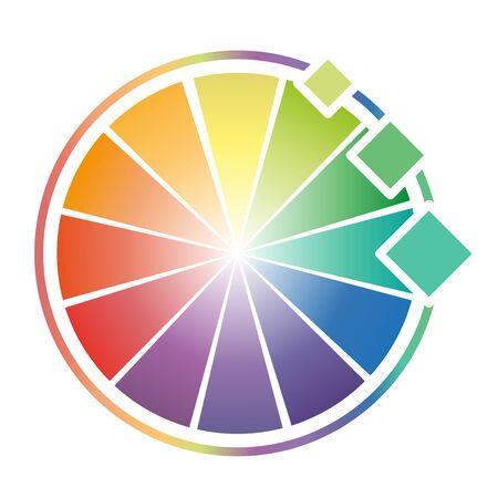 worksheet: Color Wheel Worksheet for design elements