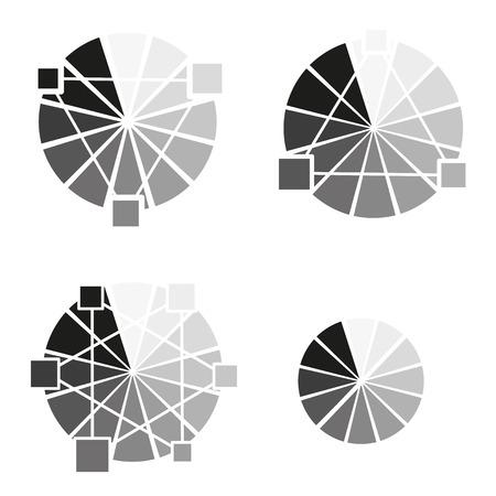 Grey Wheel Worksheet for students