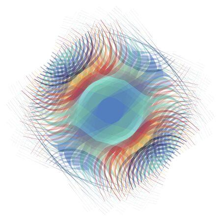 elliptical: Abstract art digital elliptical shades background