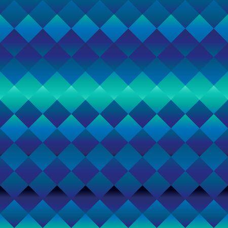 ブルーとターコイズ色の幾何学的な背景  イラスト・ベクター素材
