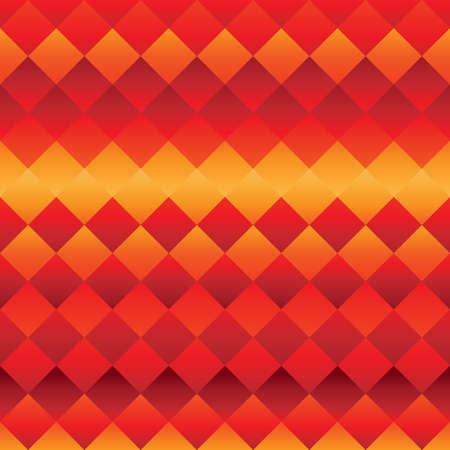 赤とオレンジ色の幾何学的な背景