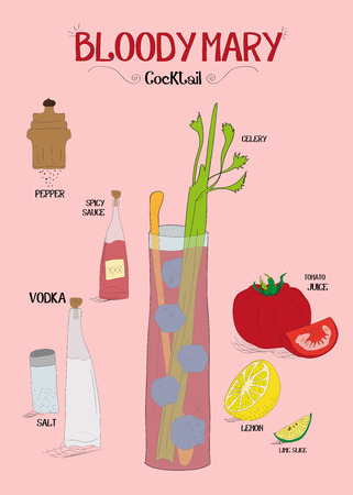 How to make a good bloody Mary cocktail