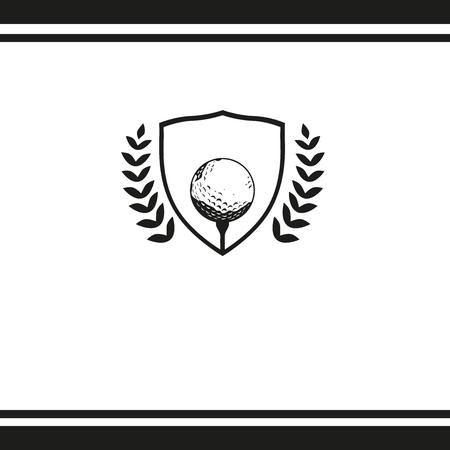 競争のゴルフ トーナメント  イラスト・ベクター素材