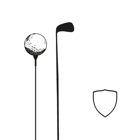 Basic golf background for business