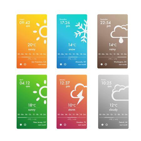 ビジネスのための天気予報スマート フォン アプリ