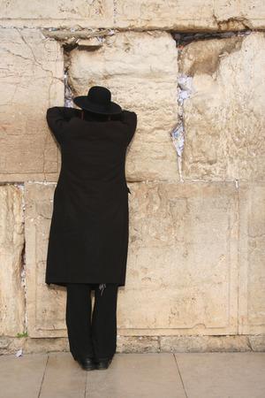 wailing: Wailing Wall, Jerusalem 3 Stock Photo
