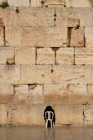 Ścianę Płaczu w Jerozolimie 1