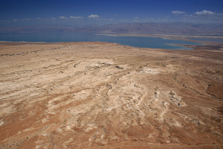 Judean Desert and Dead Sea photo