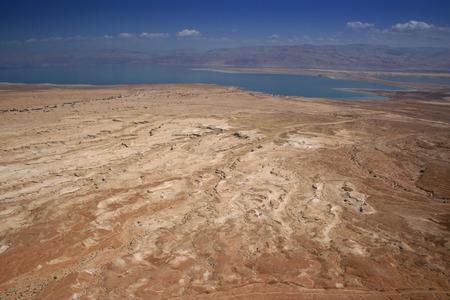 Judean woestijn en de Dode Zee