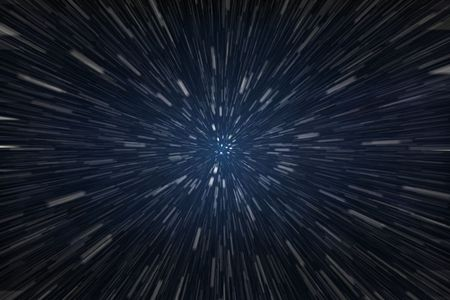 outer space: Speed of Light