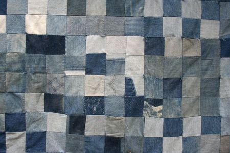 patchwork: Denim Quilt Texture