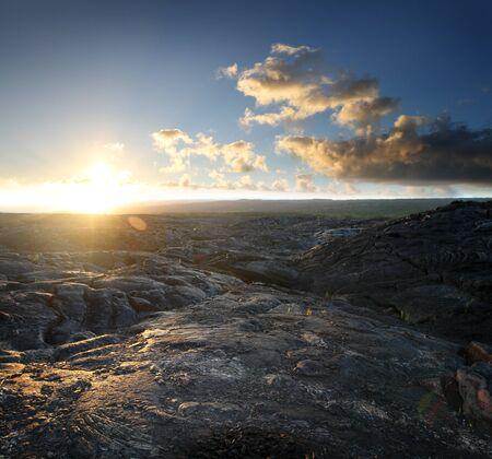 Volcanic Rock Landscape 1