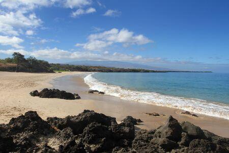 Hapuna Beach Stock Photo