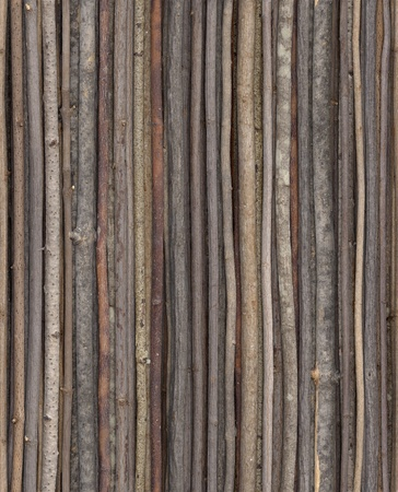 tiling: This stick background can be repeated for seamless tiling.  Stock Photo