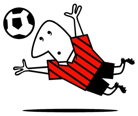 soccer Illustration