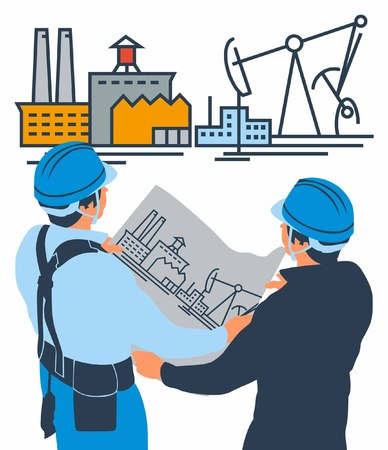 civil engineers: industrial building contractors