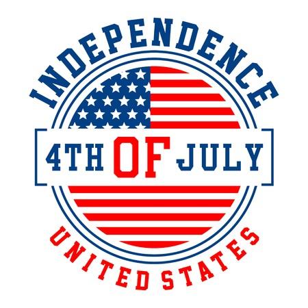 셔츠와 인쇄용 그래픽 독립 국가