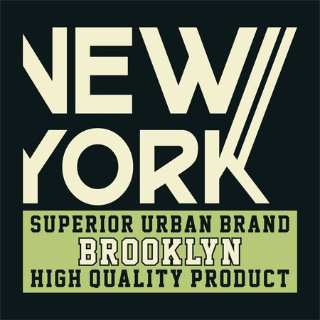 superiors: graphic new york superior urban brooklyn for shirt and print