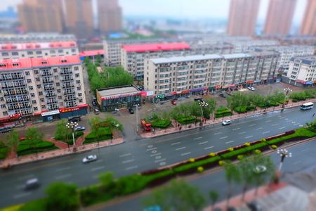 of miniature: Miniature landscape Editorial