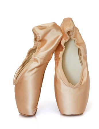 ballet shoes: Ballet shoes, isolated