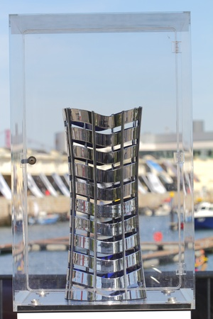 Lisbon, Portugal �June. 9: Winning Prize for the most and hardest  race around the world  Editorial