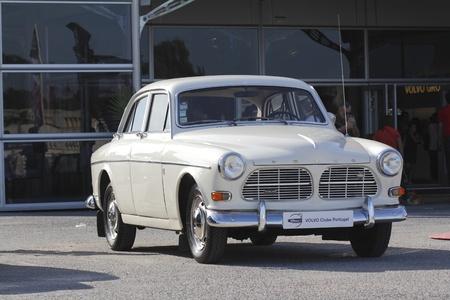Lisbon, Portugal %uFFFDJune. 9: Volvo collection car exhibition  Editorial