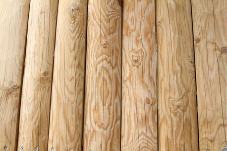Solid wood background Stock Photo