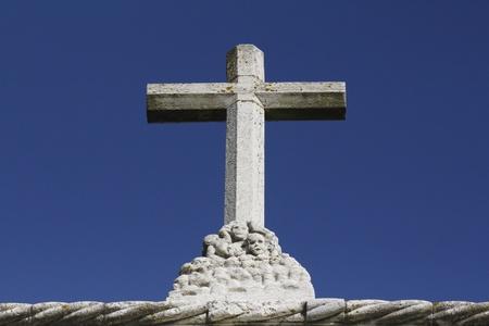 Xst cross in the church where Vasco da Gama prayed before he left to India