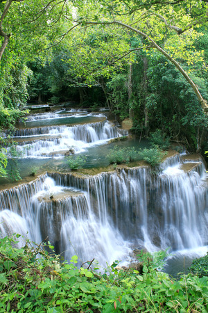 huay: Huay Mae Khamin - Waterfall, Flowing Water, Paradise In Thailand.