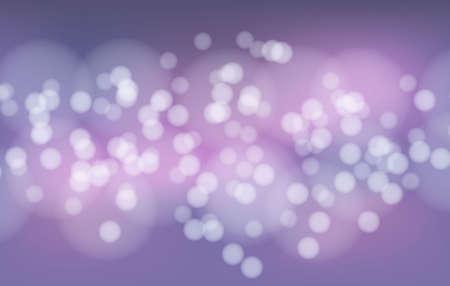 Abstract purple beauty bokeh background vector