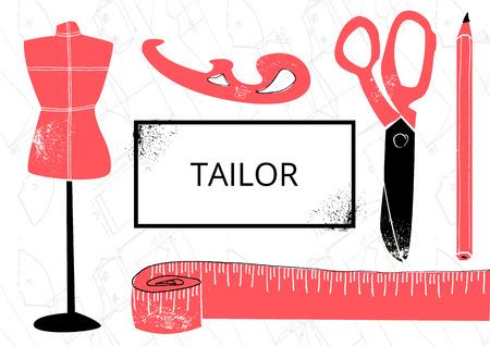 fashion design: Fashion design vector illustration Illustration