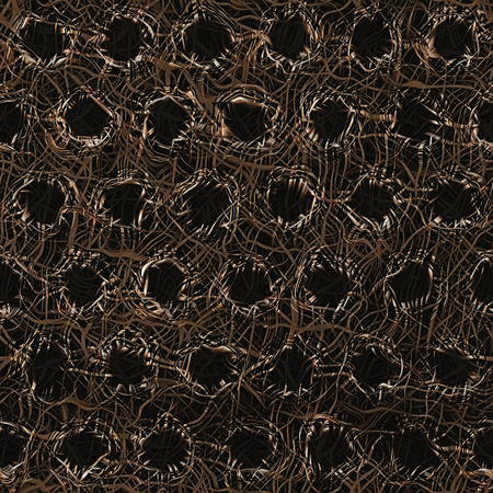 rusted: Abstract Metal Fiber Surface - Seamless Texture Background