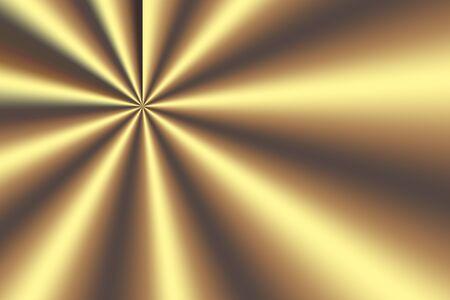 fondo degradado: goledn starburst gradient background for any artworks Foto de archivo