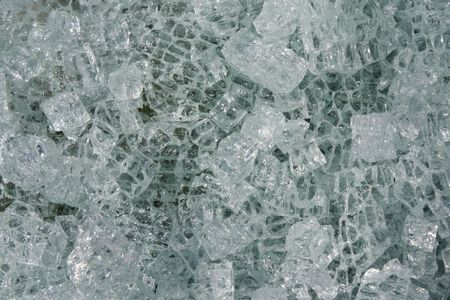a pattern created by some broken cracked glass Stock Photo - 6747051