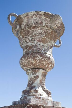 buddah: One isolated buddah estatue isolated in the blue sky