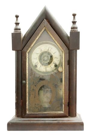 cuckoo clock: Uno muy antiguo y reloj de cuco alem�n hecha a mano