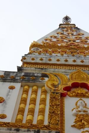 Pagoda at Ubon Ratchathani in Thaland Stock Photo - 13919403