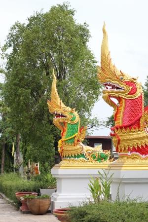 helpmate: Serpent at Ubon Ratchathani in Thaland Stock Photo