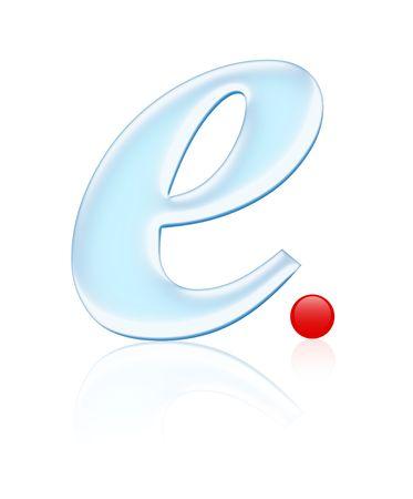 worldwideweb: water symbol Stock Photo