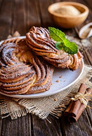 kringle: Kringle - traditional Estonian cinnamon braid bread
